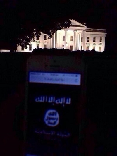 Islamic State Flag White House